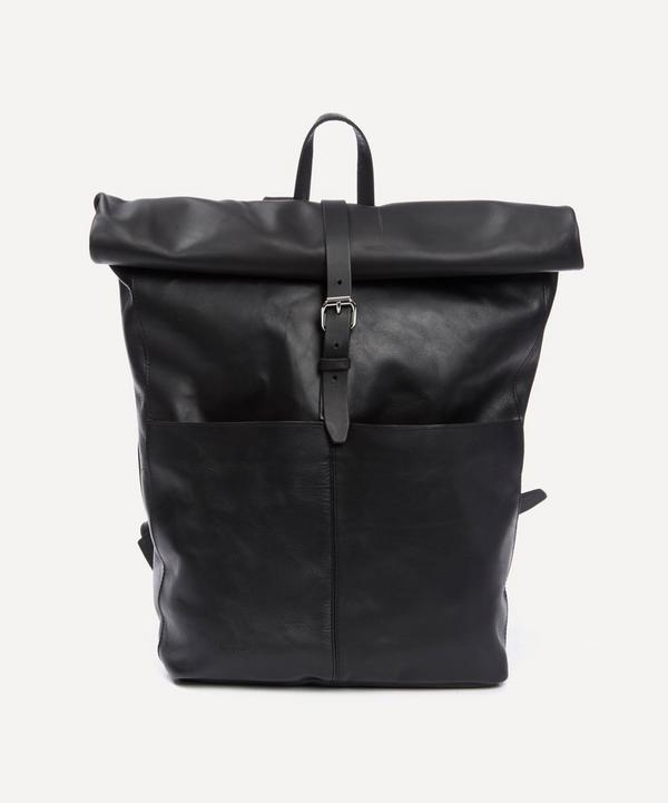 Antonia Leather Rolltop Backpack