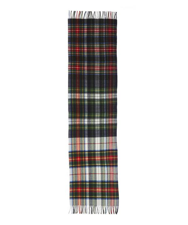 Dipper Lambswool Multi Check Scarf
