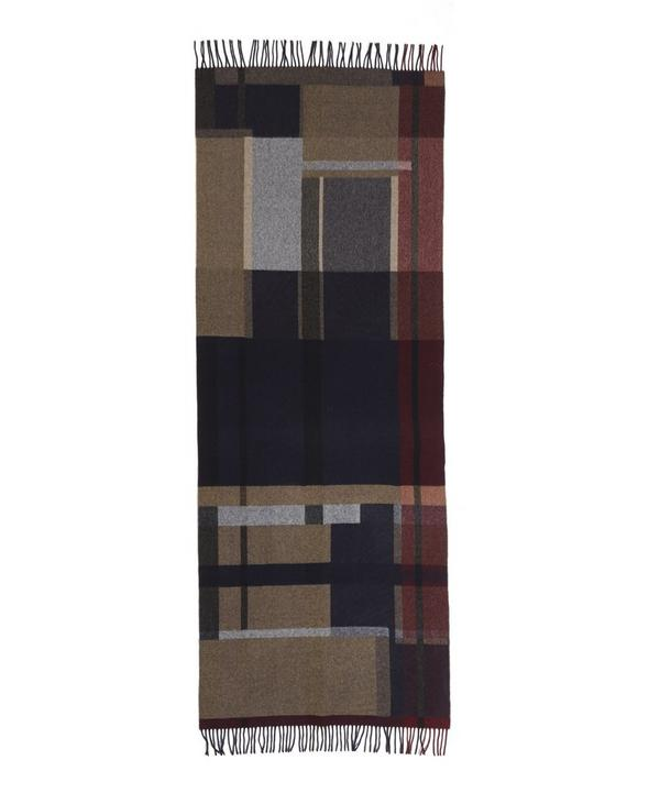 Dipper Tableau Lambswool Check Scarf