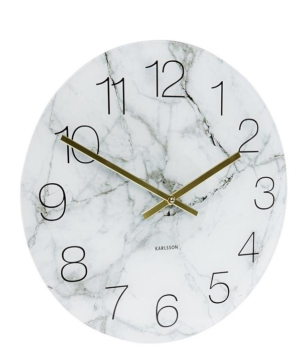 Minimal Glass Wall Clock