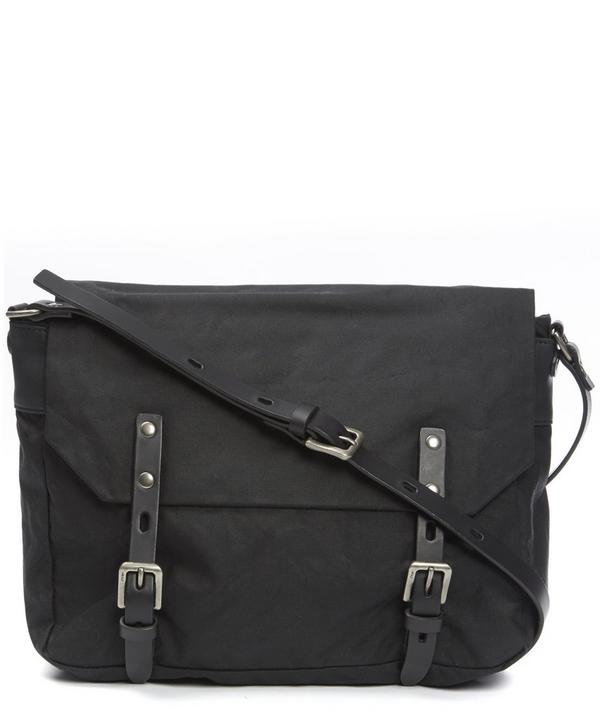 Jez Waxy Canvas Messenger Bag