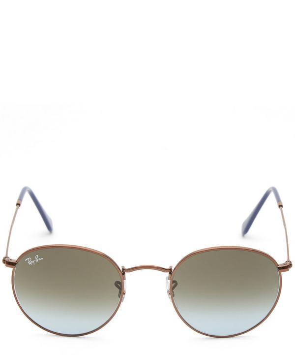 Rayban Round Metal Sunglasses