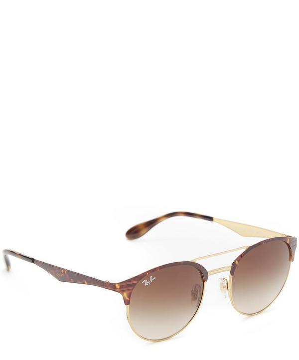Rayban RB3545 Gradient Aviator Sunglasses