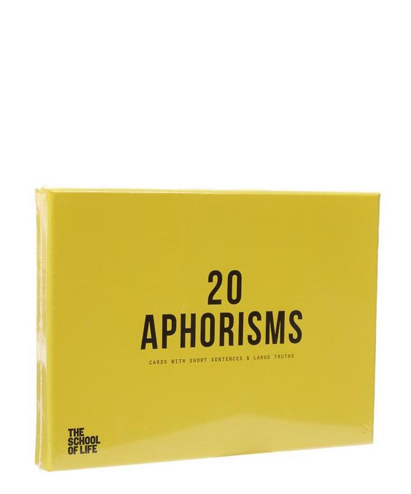 The School of Life Aphorisms Card Set
