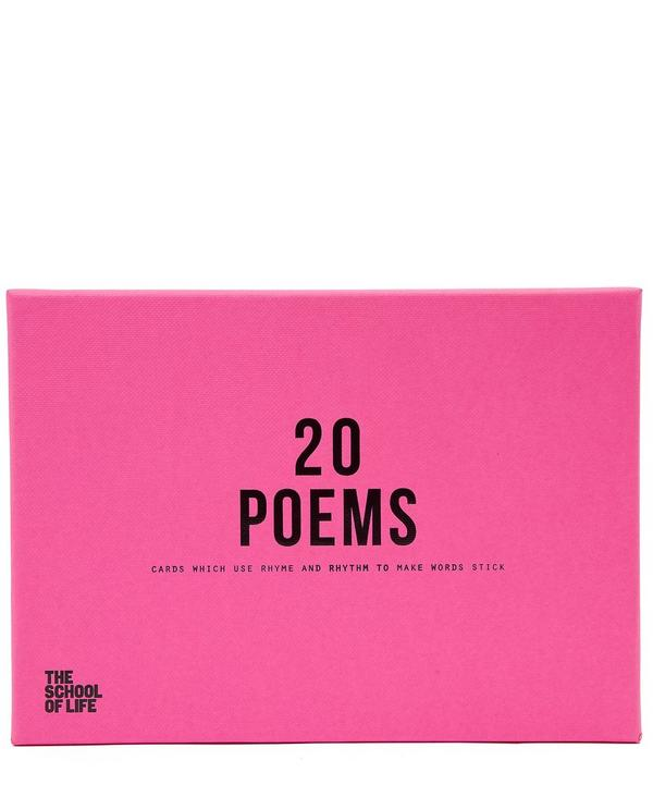 20 Cards 20 Poems