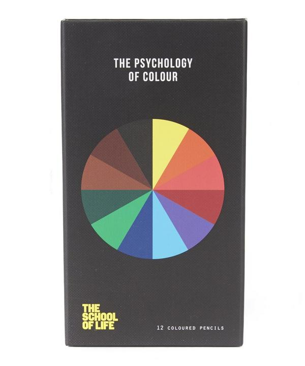 The Psychology of Colour Box of 12 Pencils