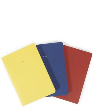 The Bauhaus Set of Three Notebooks