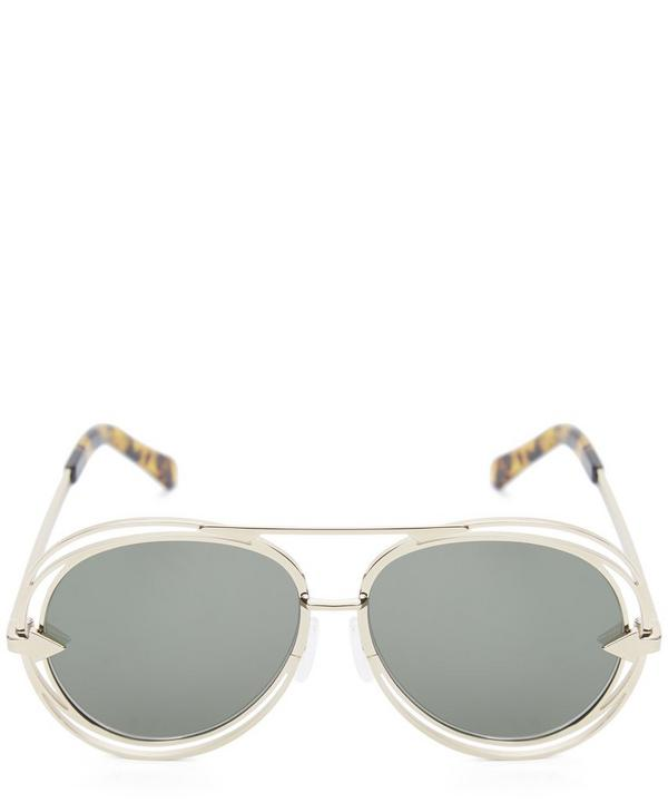 Jacques Rounded Aviator Sunglasses