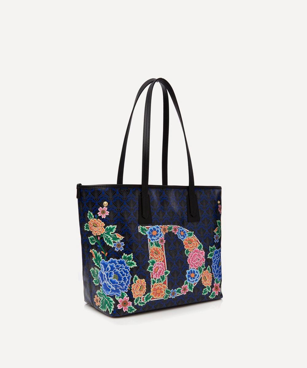 Little Marlborough Tote Bag in D Print