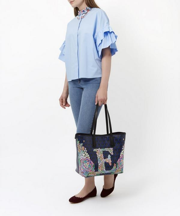 Little Marlborough Tote Bag in E Print