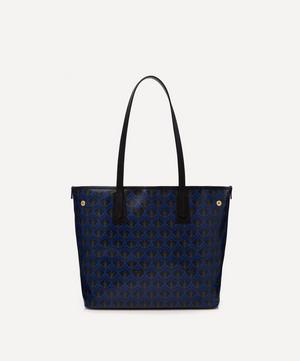 Little Marlborough Tote Bag in J Print
