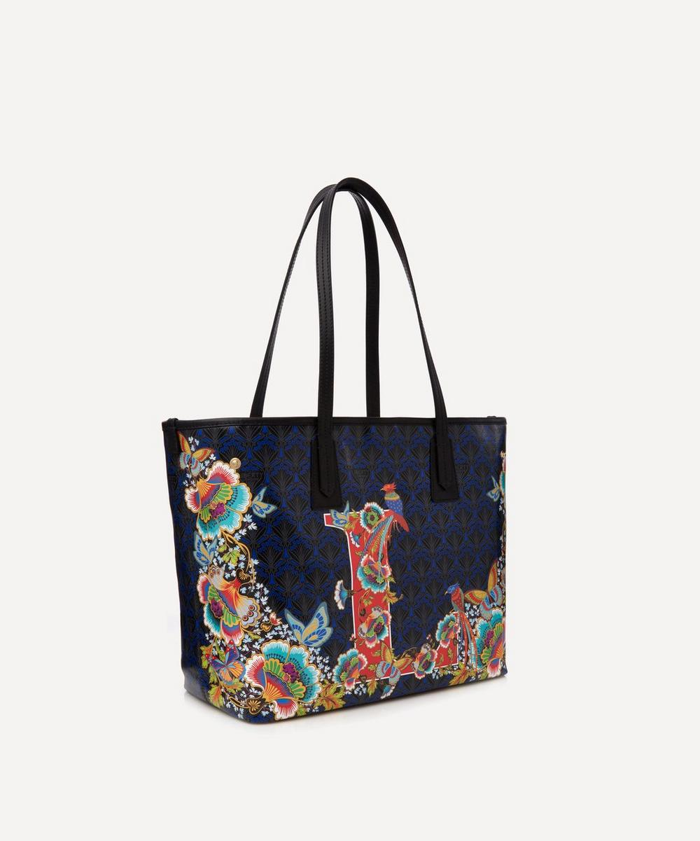 Little Marlborough Tote Bag in L Print