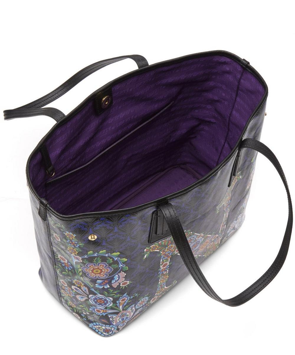 Little Marlborough Tote Bag in N Print