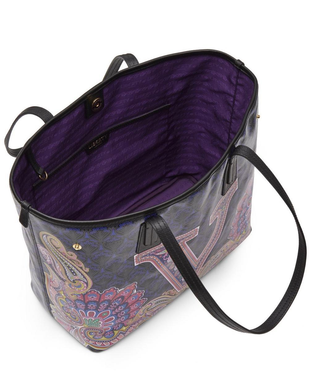 Little Marlborough Tote Bag in V Print