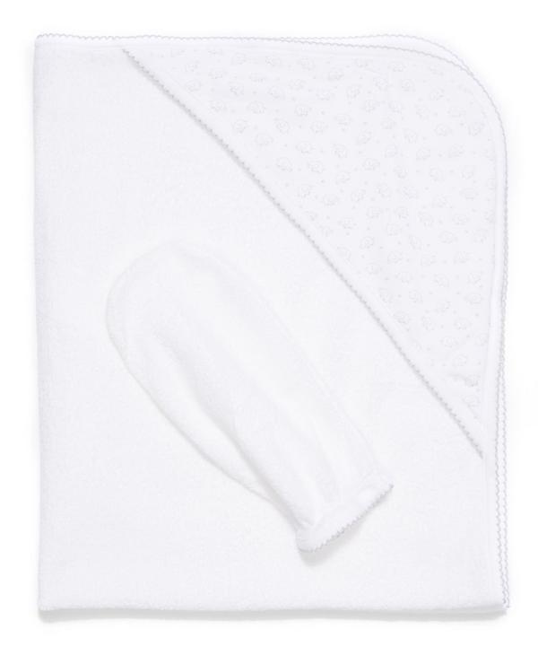 Ele-Fun Print Towel with Mitt