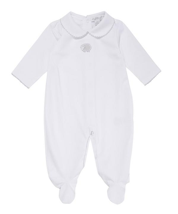 Lamb Footie and Jacket Set