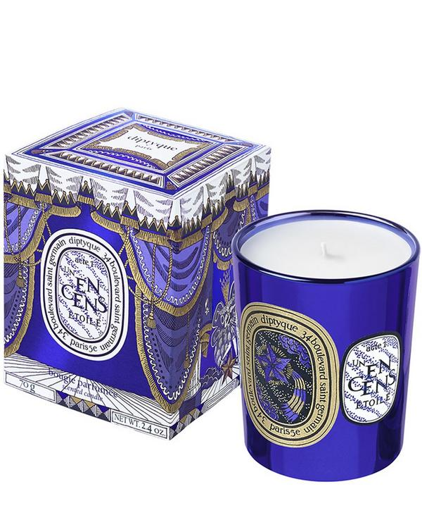 Un Encens Etoile Holiday Candle 70G