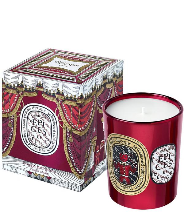 Epices Et Delices Holiday Candle 70G