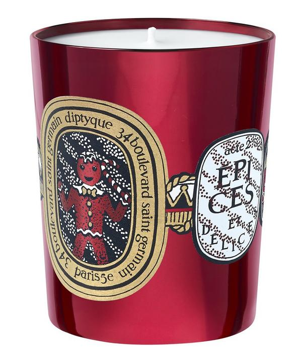 Epices Et Delices Holiday Candle 190G
