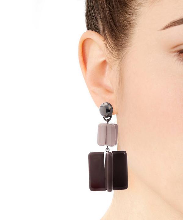 Jesse Large Lego Mood Clip-On Earrings