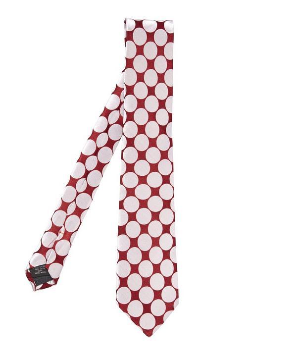 Big Polka Dot Tie