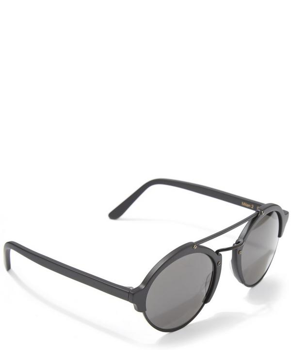 Milan II Matte Black Sunglasses
