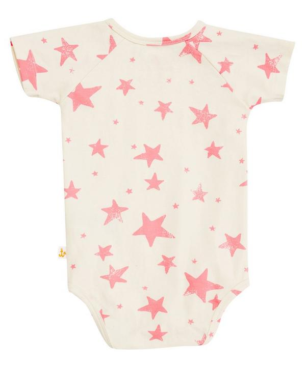 Short Sleeved Star Print Bodysuit