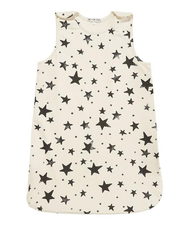 Star Print Sleeping Bag