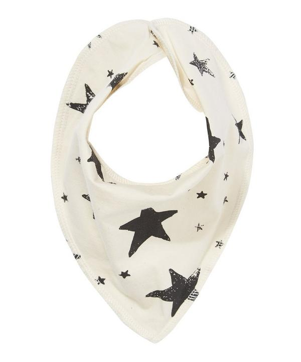 Star Print Drooling Scarf
