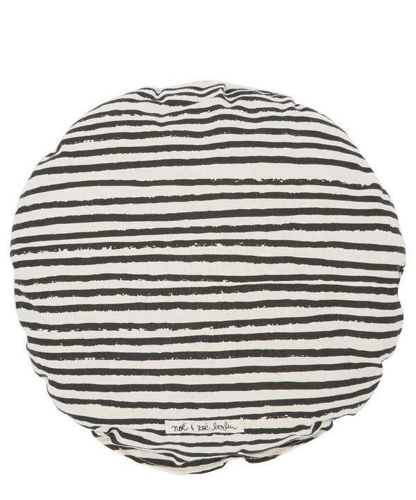 Circular Striped Pillow