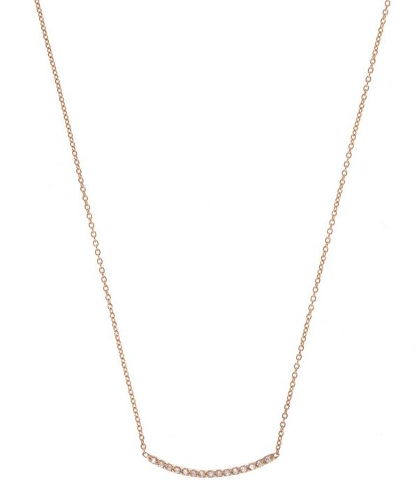 Lumiere Diamond Bar Necklace