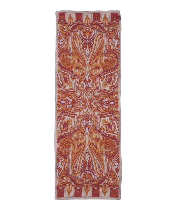 Harlequin Paisley Silk Blend Scarf