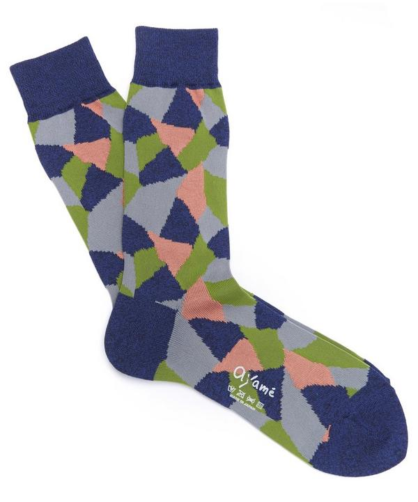 Multi Triangle Socks