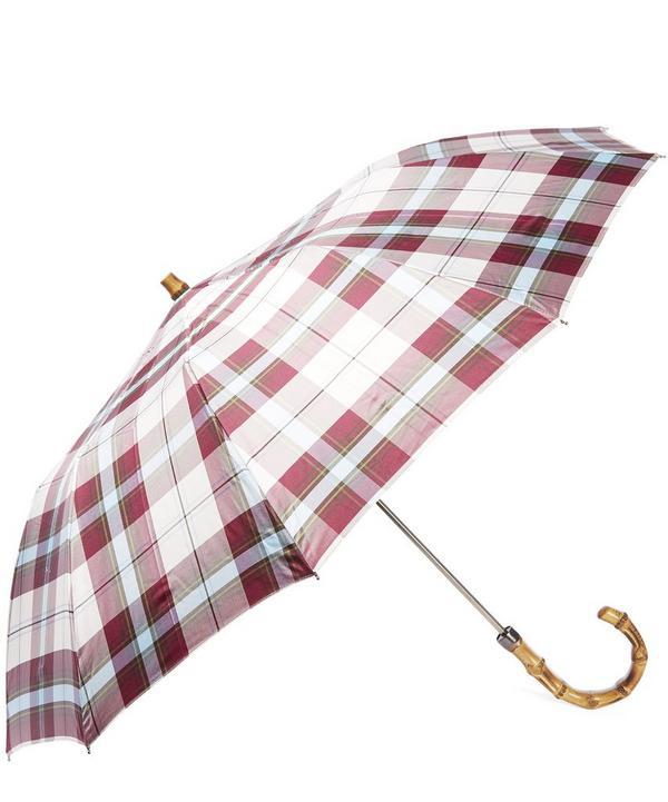 Maclean Tartan Whangee Umbrella
