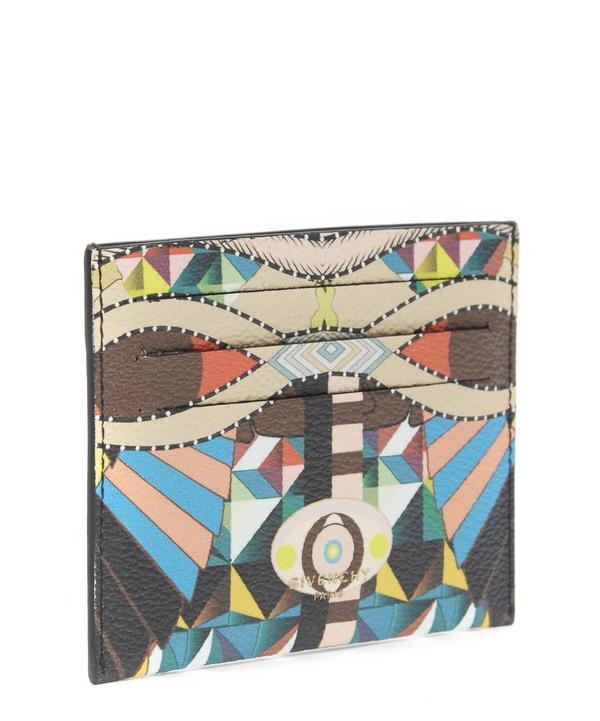 Cleopatra Print Card Holder