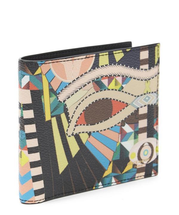 Cleopatra Print Bill Fold Wallet