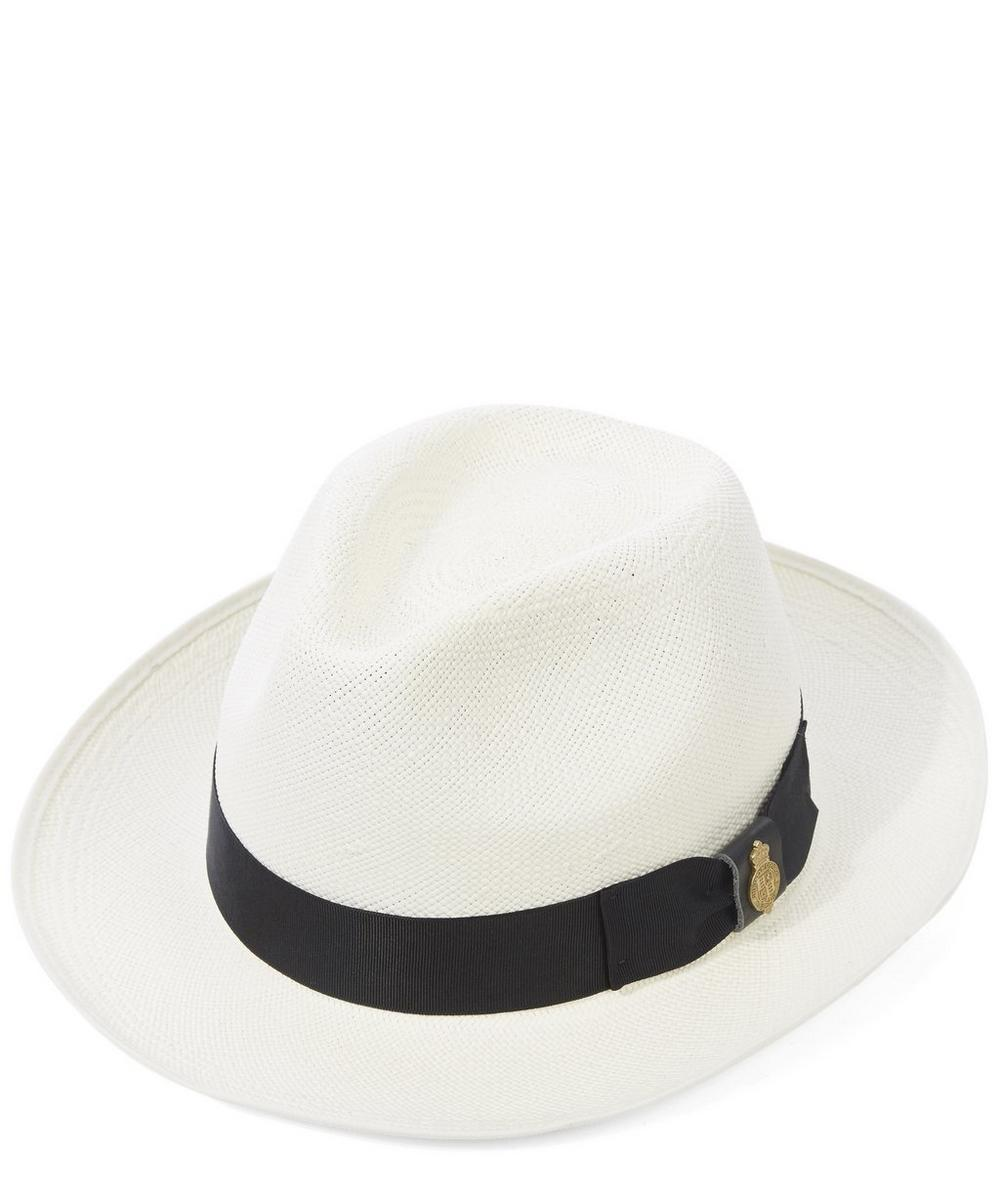Superfine Preset Panama Hat with Band