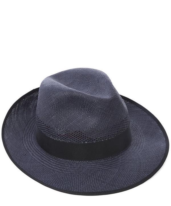Notting Hill Snap Brim Panama Hat