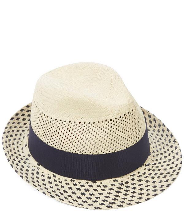 Hoxton Snap Brim Panama Hat