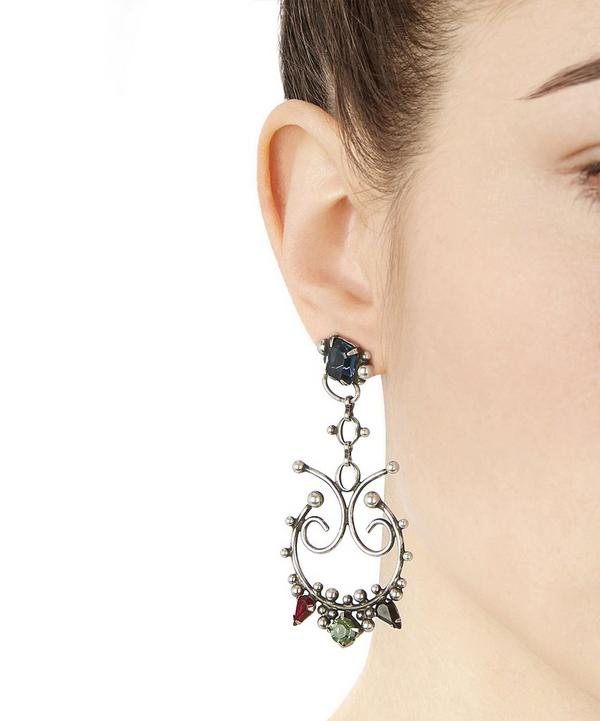 Adelyn Crystal Statement Earrings
