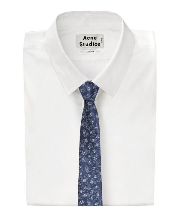Koi Fish Print Tie