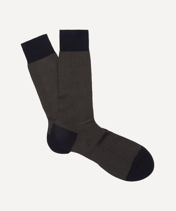 Fabian Herringbone Socks
