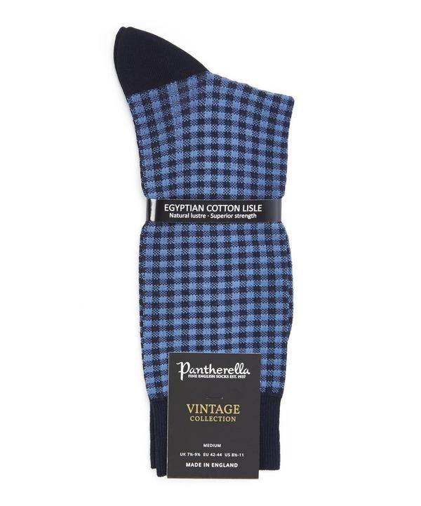 Grafton Gingham Check Socks