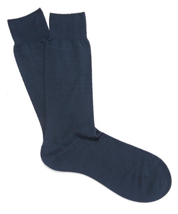 Balham Textured Socks