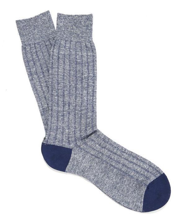 Hamada Melange Socks