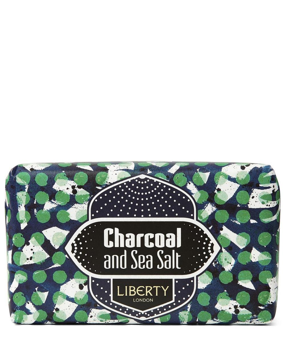 Charcoal and Sea Salt Soap