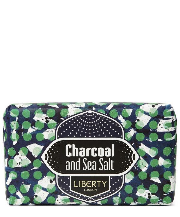 Charcoal and Sea Salt Soap