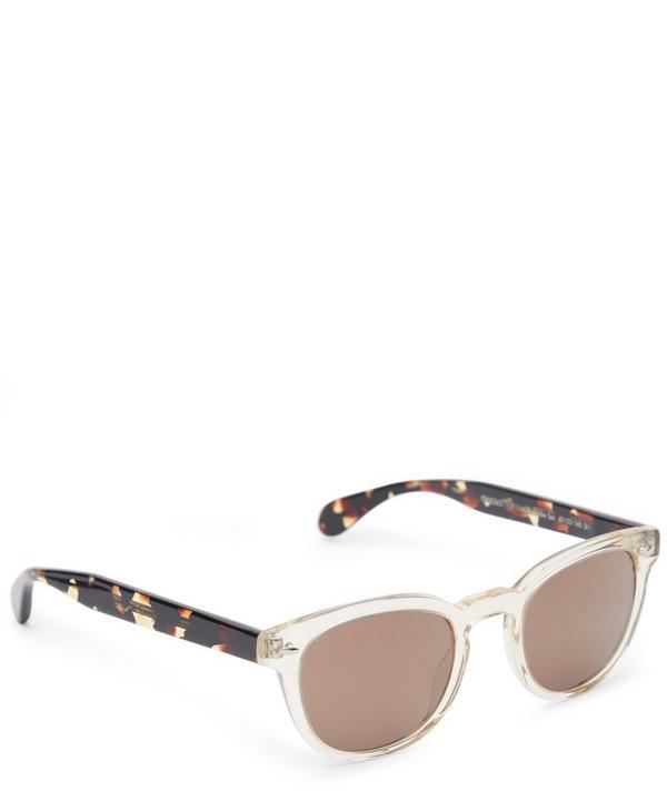 Dual-Tone Sunglasses