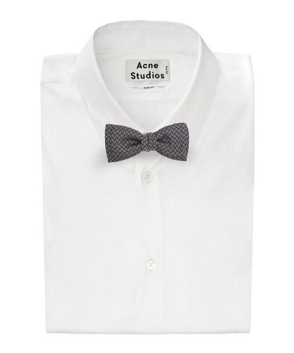 Zig Zag Bow Tie
