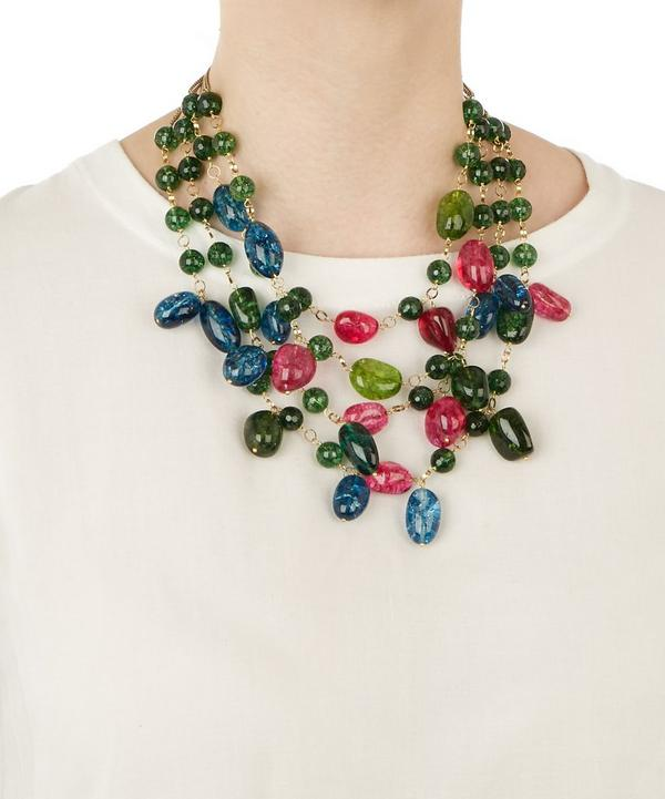 Kiwi Multilayer Necklace